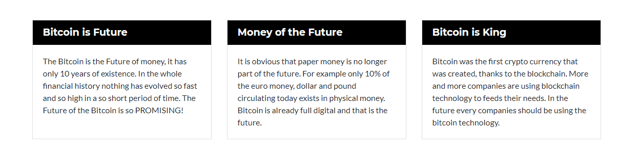 Facts of Bitcoin Future