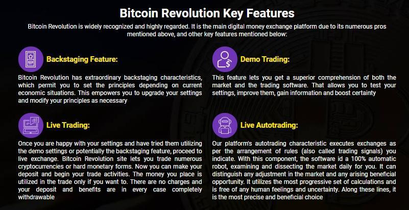 Key Highlights of the Bitcoin Revolution Review
